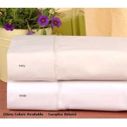 200TC Percale Flat Sheet –  King (76'' x 80'')