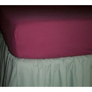 200TC Percale Fitted Sheet –  Hospital (36'' x 75'')
