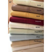 300TC Egyptian Cotton Sheet Set from Royal Tradition (Twin)