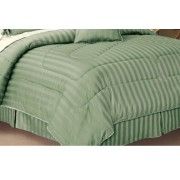 320TC Olympic Queen Tailored Bed Skirt - Stripe (14-inch)
