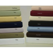 550TC Egyptian Cotton 1-Ply Olympic Queen Sheet Set