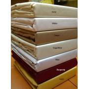 600TC Egyptian Cotton Full Sheet Set (Solid)
