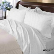 800TC Egyptian Cotton California King Sheets (Sateen/Stripe)