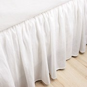 300TC Twin XL Ruffled Bed Skirt - Solid (14, 18, or 21-inch)