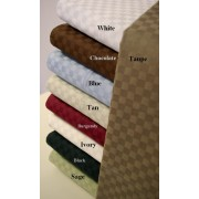 300TC Egyptian Cotton Checkerboard Sheet Set - California King