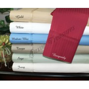 1000TC Egyptian Cotton Luxury Stripe Sheet Set – Cal King