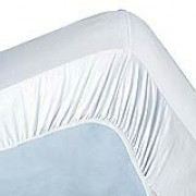 500TC Pima Cotton 1-Ply Split King / Dual King (Fitted Sheet Pair)