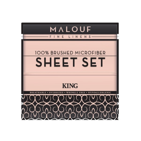 Double Brushed Microfiber Sheet Sets From Malouf Fine Linens 174