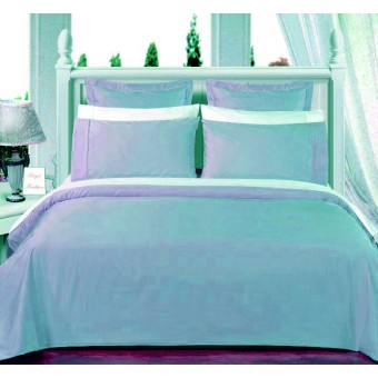 550tc light blue olympic queen bed in a bag with comforter. Black Bedroom Furniture Sets. Home Design Ideas