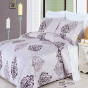300TC Gizelle Duvet Cover Set – California King - Egyptian Cotton – 8PC