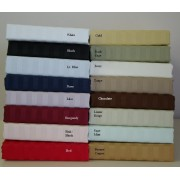 300TC Egyptian Cotton Stripe Sheet Set - Twin
