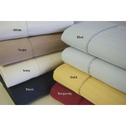 600TC California King Pin Stripe Sheet Set