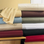 300TC Egyptian Cotton California King Waterbed Sheet Set (Stripe)
