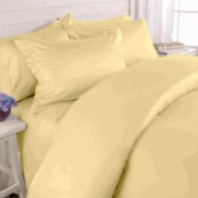 550TC Gold Olympic Queen Bed In A Bag with Comforter - 8-PC