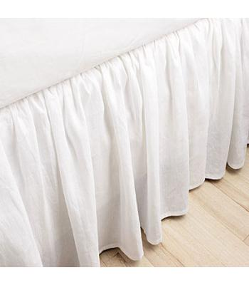 300tc California King Ruffled Bedskirt 14 18 Or 21 Inch